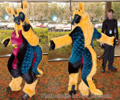 Kirin Fursuit Complete by Beetlecat
