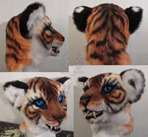 Tiger Fursuit Head by Beetlecat