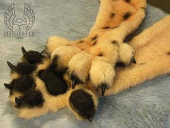 Cheetah HandPaws by Beetlecat