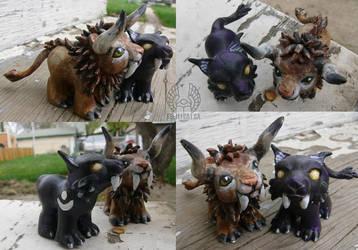 Warcraft Ponies by Beetlecat