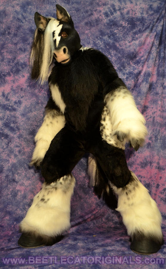 Horse Fursuit Costume 2 by Beetlecat