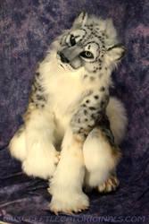 Snow leopard Fursuit Costume by Beetlecat