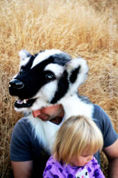 Win this Badger Headdress! by Beetlecat