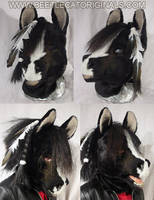 Horse Fursuit Head by Beetlecat