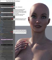 iRay Skin Settings by MadamGoth