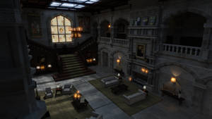 Croft Manor by MadamGoth