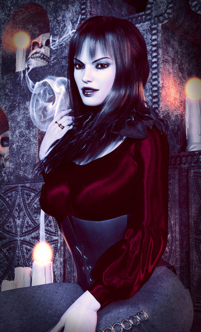 Lady Vampire by MadamGoth