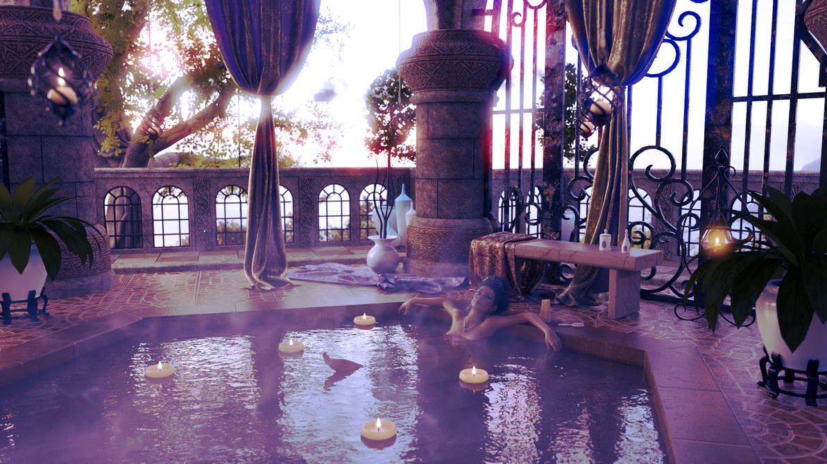 The Empresses Bath by MadamGoth