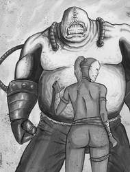 Bane Duo by krateworx
