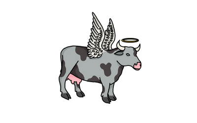 HOLY FLYING COW! by Mammouth55