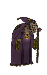 The Old Wizard by Mammouth55