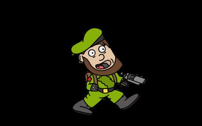 Leprechaun Soldier-QuickSketch by Mammouth55