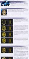 Chibi Car - Wheel Tutorial by CGVickers