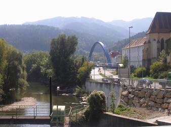 Bruck/Mur Bridge by wheelsonfire