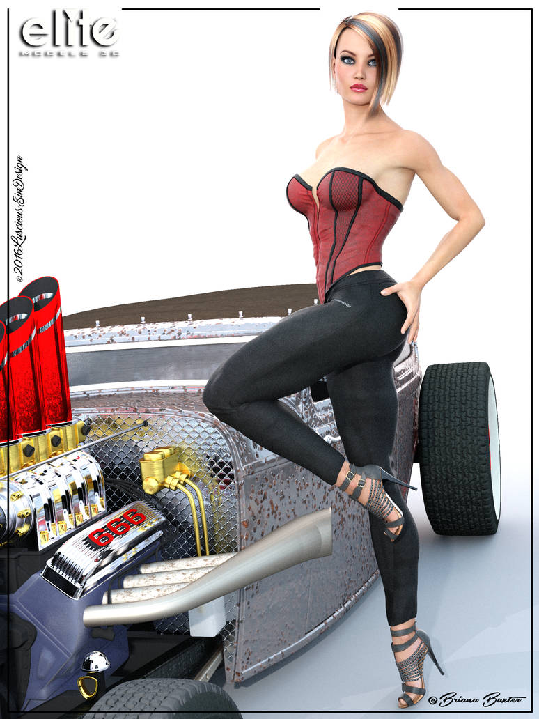 Rat rod female models