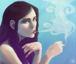 Smoke under water by Hi-Gummy