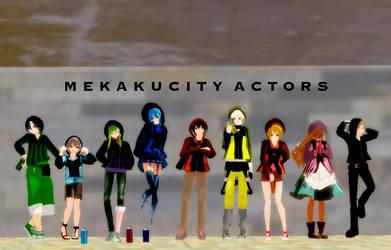 Mekakucity Actors OP- Daze (VIDEO) by RinKagamineluvr