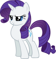 Battle Ready Rarity by Spaceponies