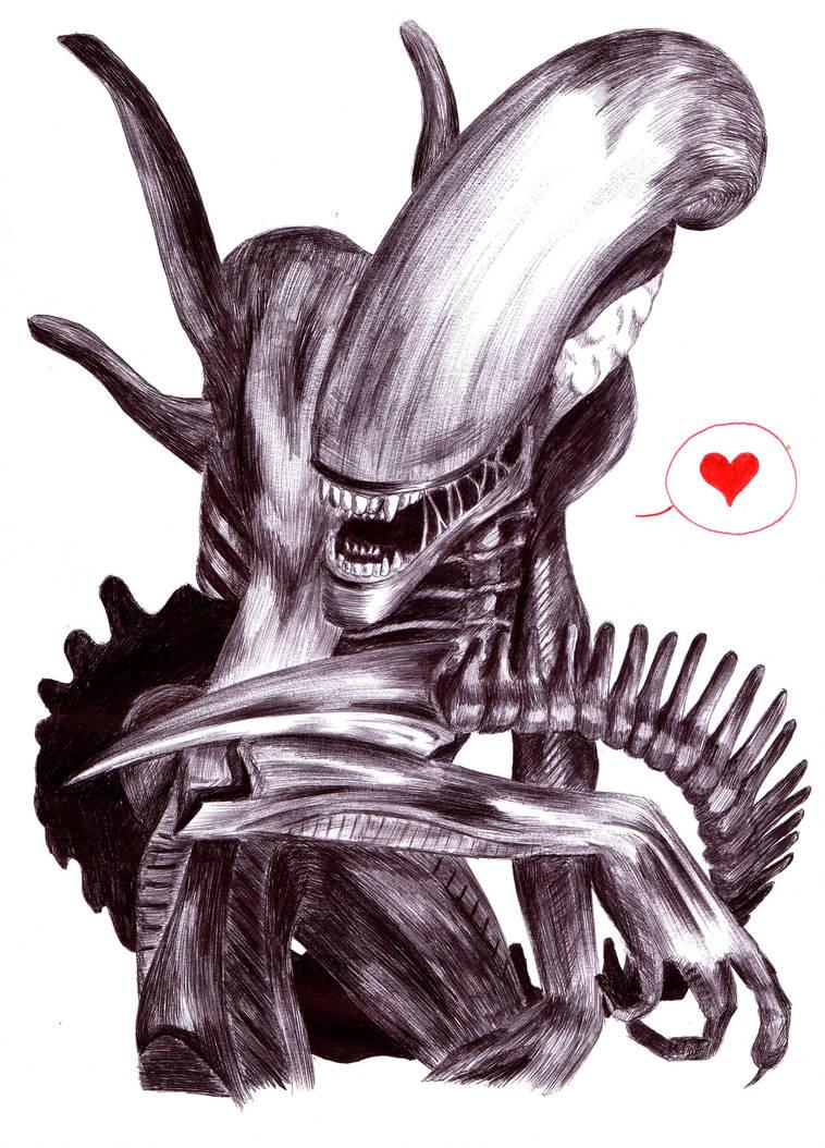 Alien valentine by Shinu-chan