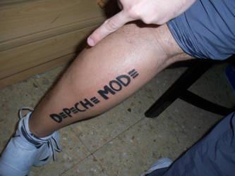 Depeche Mode tattoo by Shinu-chan