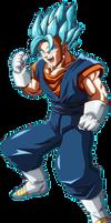 Vegito Blue (Dragon Ball FighterZ) by NeoFlyingDragon