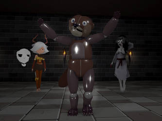 SJSM - Otto the spooky otter by SeriousNorbo
