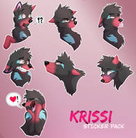 Sticker Pack: Krissi by Streetfair
