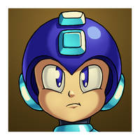 Mega Man by ShenTsumi