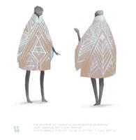 Grain field dress by Daliot