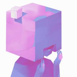 Cube helmet by Daliot