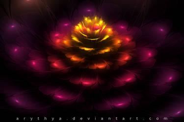 Fractal Flower III by Arythya