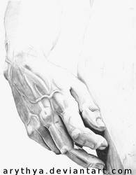 The Hand of David by Arythya