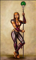 Knight-Captain Melina by SirTiefling