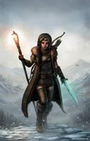 Dragonborn Rising by SirTiefling