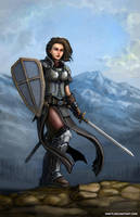 Lady Knight by SirTiefling