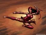 Elektra: Assassin by SirTiefling