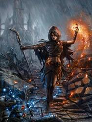 Dark Souls Pyromancy by SirTiefling