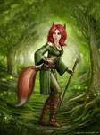 Fox Girl by SirTiefling