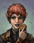Elfyquisitor Likes Cookies by SirTiefling