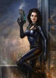 Mass Effect - Miranda by SirTiefling