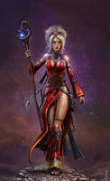 The Iconic Sorceress by SirTiefling