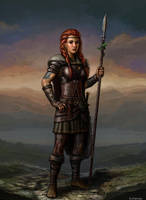 Defender of the Tribe by SirTiefling