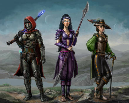 Edgy Heroes of Eberron by SirTiefling