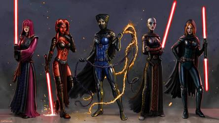 Dark Side Dames by SirTiefling