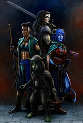 Critical Girls by SirTiefling