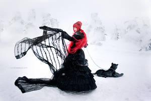 Snow Queen III by kahengrace