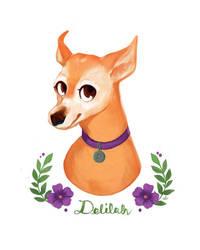 Delilah by zuluyo