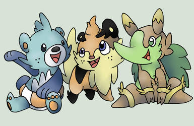 New Starters. by BoredX