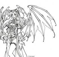 Mivaelianyn - Wings by kuri-chan