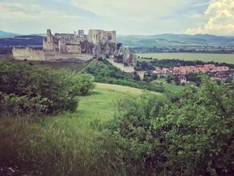 Castle Beckov Slovakia by WildSammy